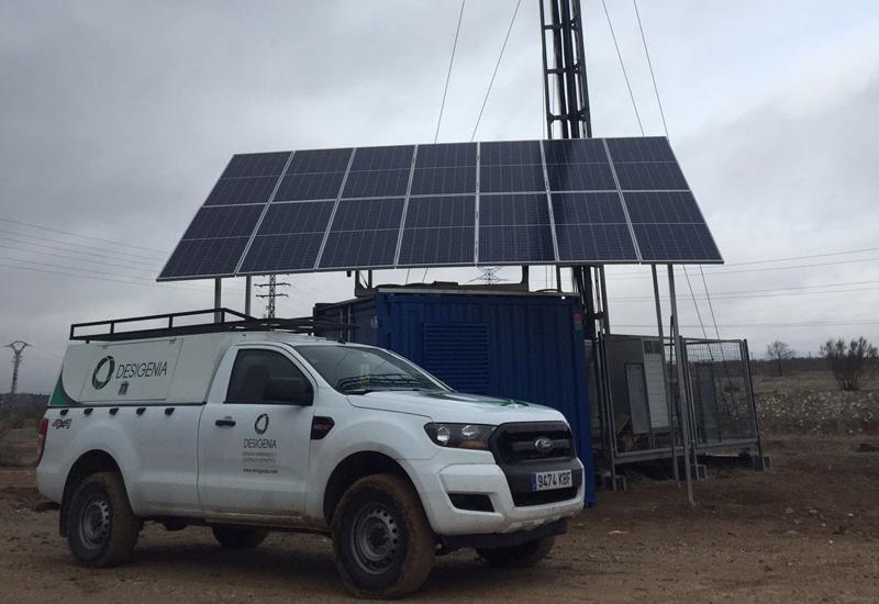 Tareas de mantenimiento preventivo de Desigenia en una instalación híbrida fotovoltaica.