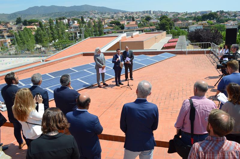 Presentación de la Estrategia de Servicios Energéticos para equipamientos e infraestructuras de la Generalitat de Catalunya.