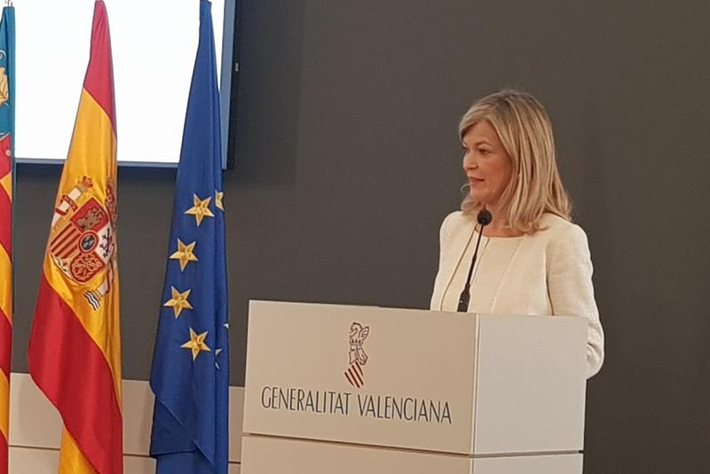 Gabriela Bravo, consellera de Justicia, Interior y Administración.
