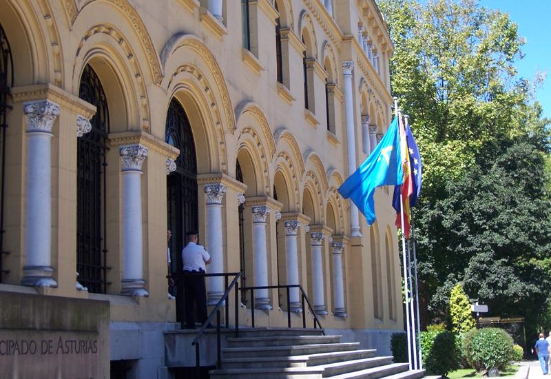 Sede del Gobierno de Asturias.