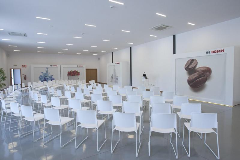 Auditorio del Bosch Competence Center.