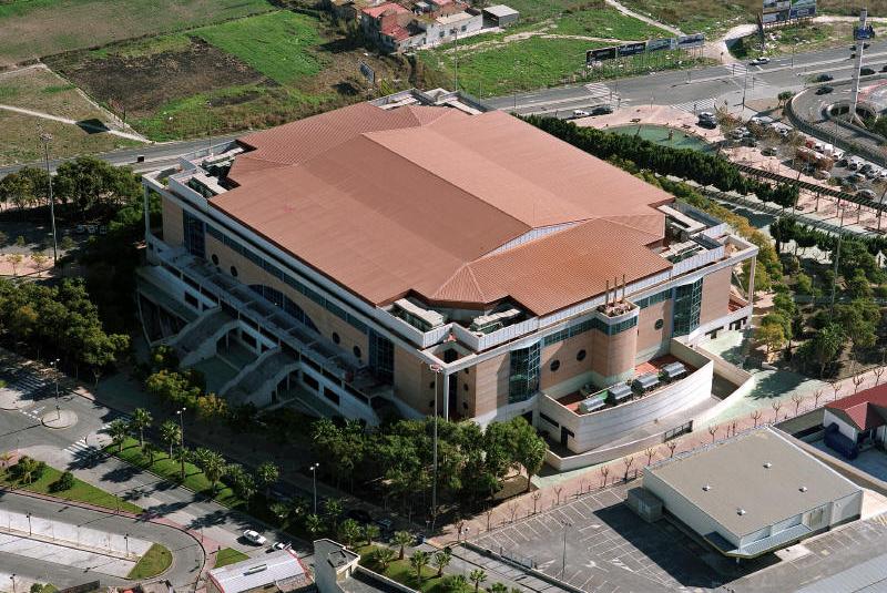 Palacio de los Deportes del Ayuntamiento de Murcia.