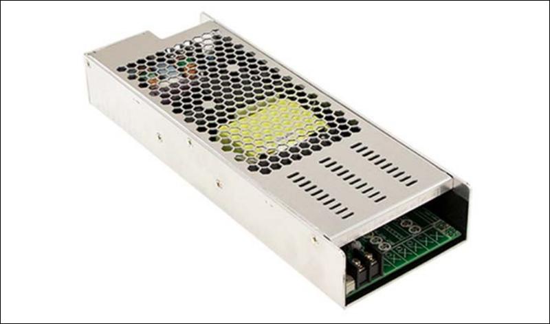 Fuente de alimentación Serie UMP-400 de Mean Well distribuida en España y Portugal por Electrónica OLFER.