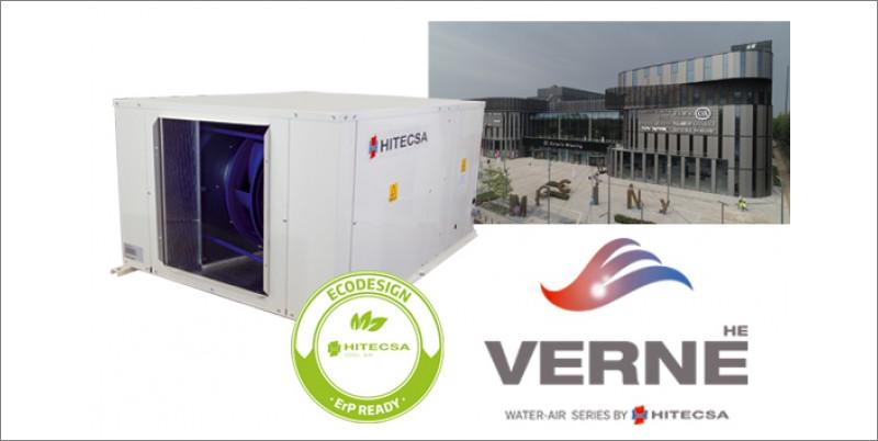 Hitecsa instala sus equipos Verne en la climatización del nuevo centro comercial Galería Mlociny de Varsovia