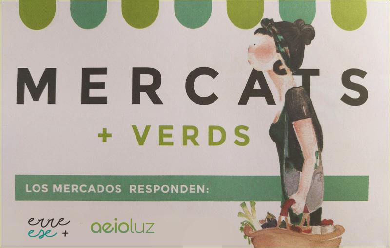 Mercados Verdes Aeioluz Ayuntamiento de Valencia.