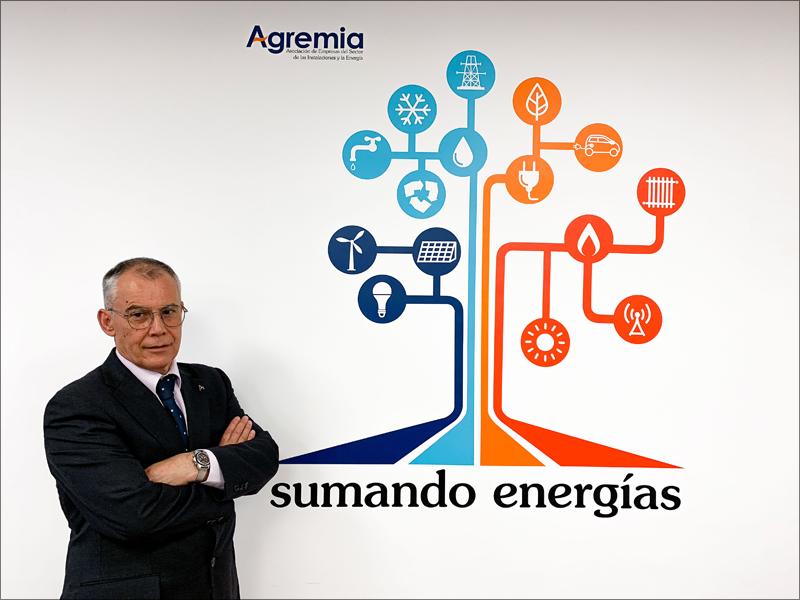 Emiliano Bernardo fue elegido presidente de Agremia durante la última Asamblea General de la asociación, celebrada el pasado mes de junio.