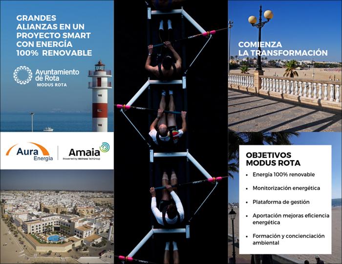 convertido en una alianza con Aura Energía y Wellness TechGroup para llevar a cabo un proyecto de ciudad inteligente con energía 100% renovable.