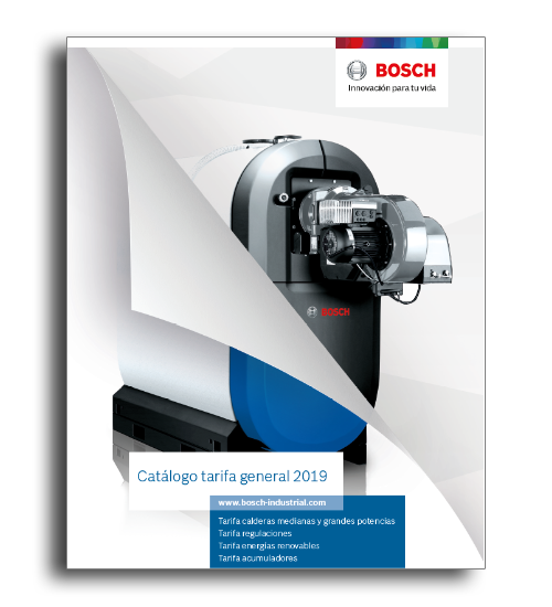 El nuevo catálogo tarifa general 2019 de Bosch Termotecnia, que está vigente desde el 1 de septiembre, aúna todas las soluciones en eficiencia energética para calefacción comercial e industrial.