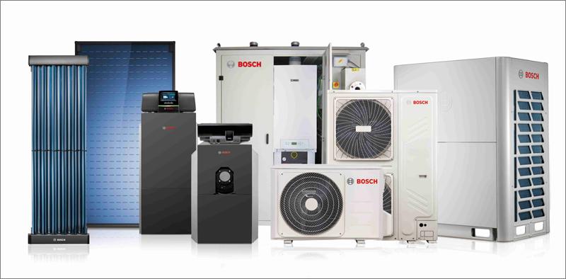 Equipos de Bosch Termotecnia al servicios de las empresas de servicios energéticos.