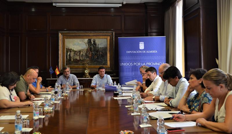 Junta de Gobierno de la Diputación de Almería.