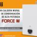 La firma Ferroli lanza la nueva caldera mural de condensación de alta potencia Force W