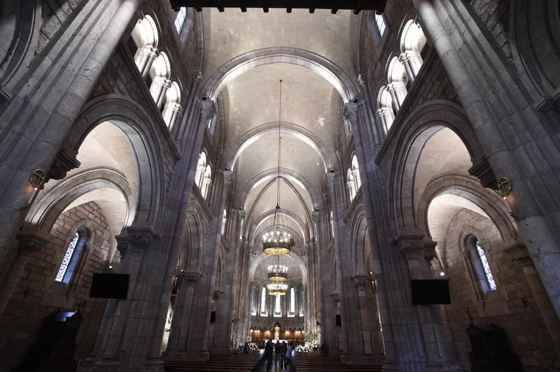 Interior de la Basílica de Covadonga.