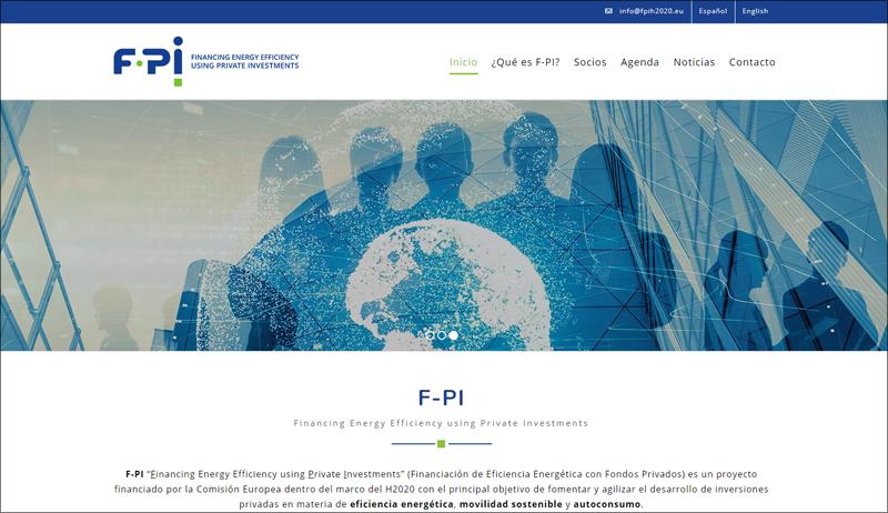 Disponible en castellano e inglés, a través del dominio https://www.fpih2020.eu/, esta plataforma ofrece información detallada, desglosando los servicios y ventajas que F-PI proporciona tanto a promotores como a inversores de proyectos.