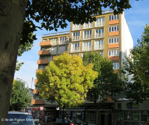 Edificio de viviendas en Francia. Financiación de rehabilitación energética en viviendas colectivas de la región de París.