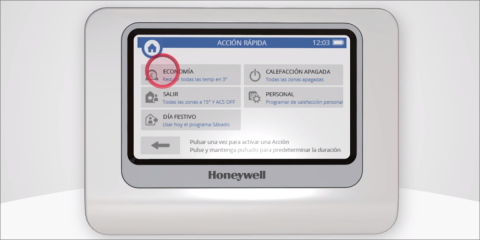 Cómo Usar Evohome Connected. Honeywell Home