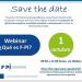 Webinar sobre F-PI, el proyecto europeo para movilizar la financiación privada en eficiencia energética