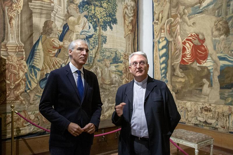 La Xunta de Galicia y la Fundación Catedral de Santiago colaboran en la renovación realizada en el sistema de iluminación del museo de la propia Catedral