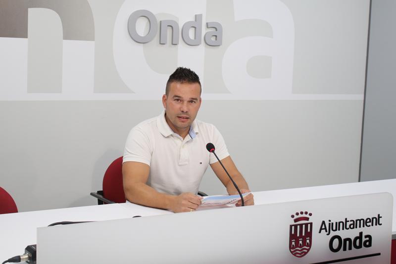 Concejal de Ciudad Saludable y Sostenible, Paco Pastor. Ayuntamiento de Onda.