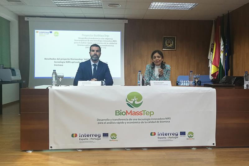 Jornada en Córdoba para presentar la herramienta que analiza la calidad de la biomasa.