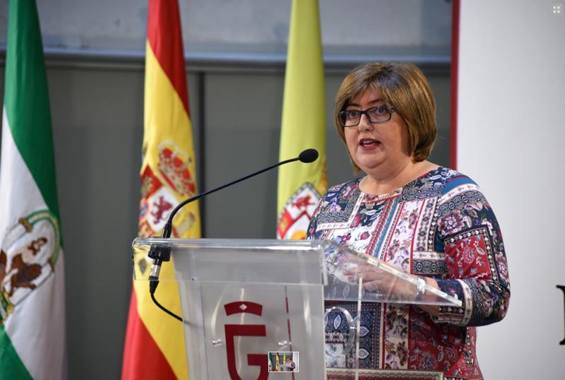 diputada de Empleo y Desarrollo Sostenible, Ana Muñoz. (Granada)