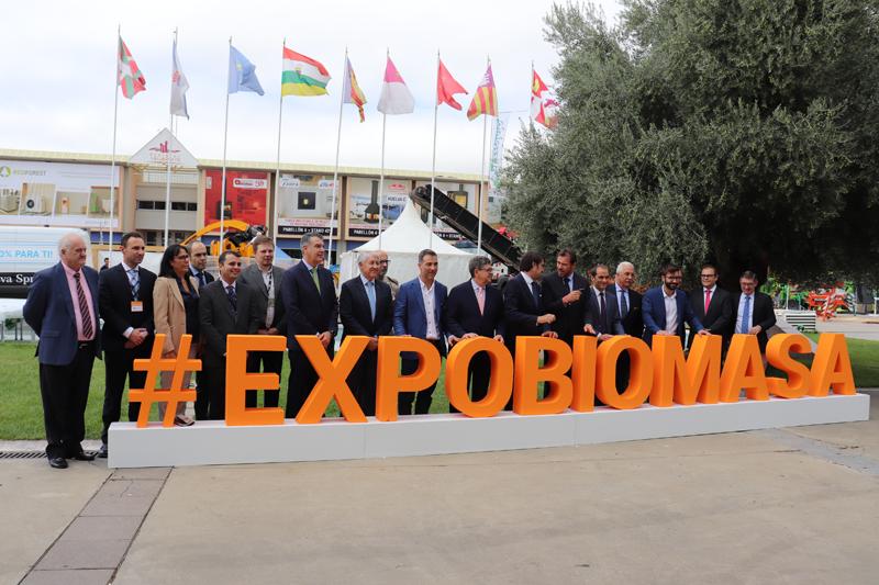 Inauguración oficial de Expobiomasa 2019.