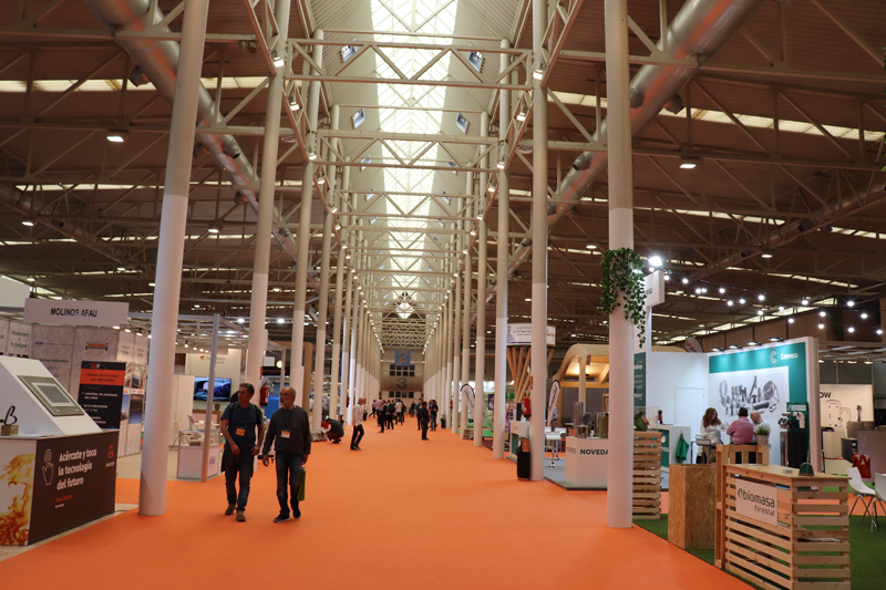Visitantes Expobiomasa 2019