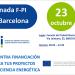 Barcelona acogerá una jornada sobre el proyecto F-PI para la financiación de eficiencia energética con fondos privados