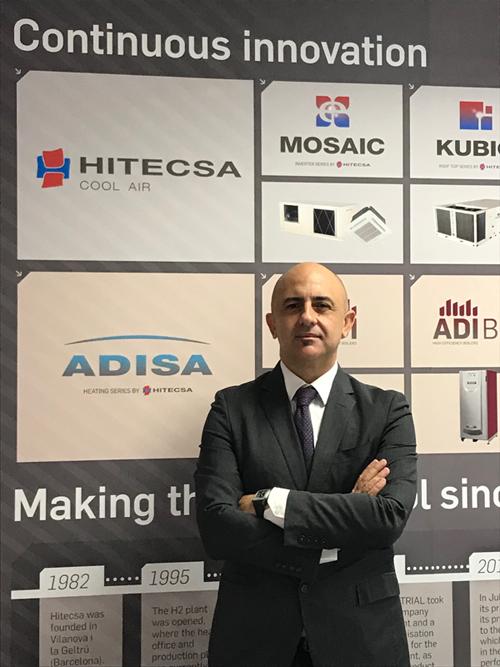 Moisés Sánchez Gándara, nuevo director general de Hiplus Aire Acondicionado.