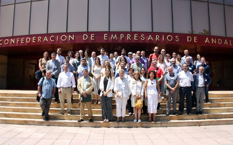 Más de 50 entidades, entre pymes y grupos de investigación asistieron al lanzamiento oficial del Centro de Innovación Digital Andaluz ICT-Biochain.