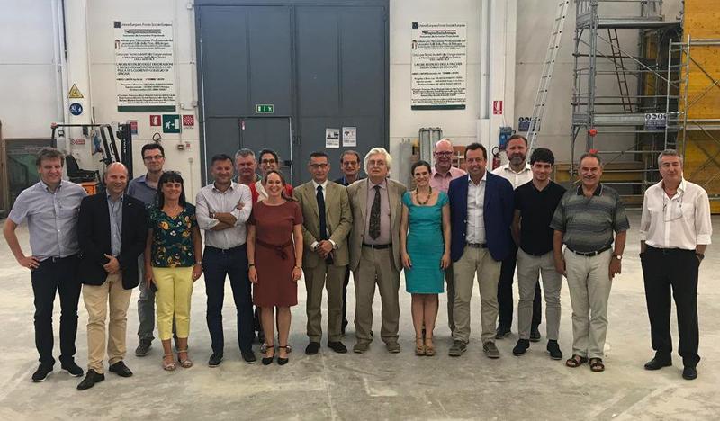 Representantes de los socios que conforman el proyecto europeo Innoveas.