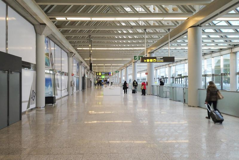 Aeropuerto Palma de Mallorca iluminación