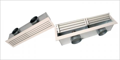 Aldes lanza la gama Lined Combined, nuevos difusores de aire diseñados para espacios profesionales