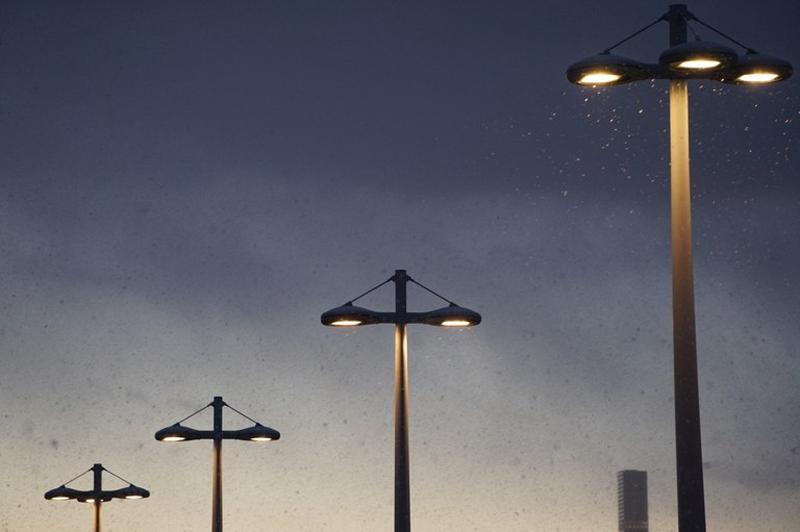 alumbrado público, luminarias LED, Arrasate.