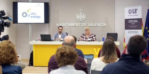 Aplicación de uso público que da a conocer el consumo energético de los edificios del Ayuntamiento de Valencia
