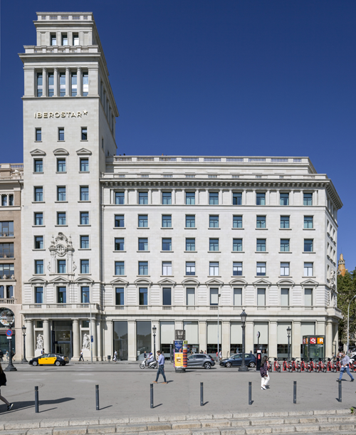 Hotel Iberostar Paseo de Gracia de Barcelona.