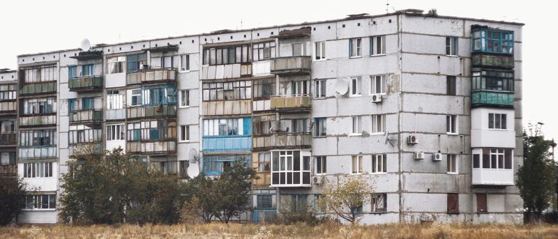 Bloques de viviendas. Pobreza energética.