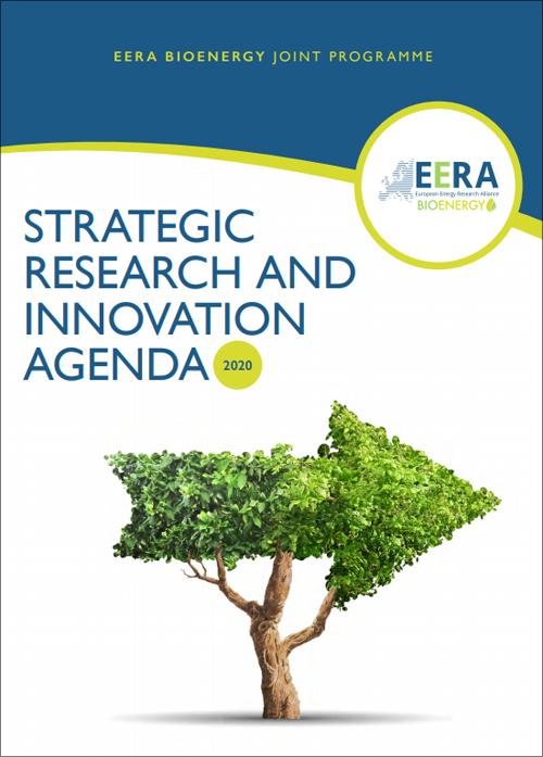 Portada de la Agenda Estratégica de Investigación e Innovación 2020 de EERA BioEnergy.