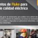 Instrumentos de Fluke para análisis de calidad eléctrica y energía