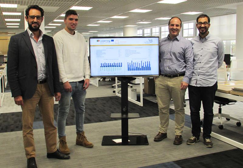 Equipo de ingenieros de ITG participantes en el proyecto AGERAR.