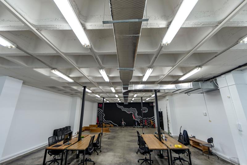 Oficinas de Magma Work en Sevilla. Iluminación LED.