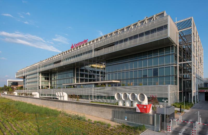 Sede de Banco Santander.