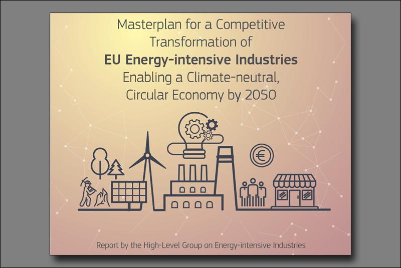 """""""El plan maestro para una transformación competitiva de las industrias de consumo energético intensivo que permita una economía circular climáticamente neutral para 2050"""""""
