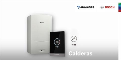 Calderas Junkers Bosch para agua caliente y calefacción