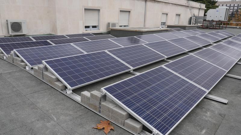 La Embajada de Francia en España es más sostenible gracias a la planta solar fotovoltaica instalada por la empresa Powen.