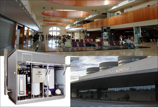 El Aeropuerto de Logroño cuenta con los equipos de Adisa Heating para dar más confort a sus viajeros.