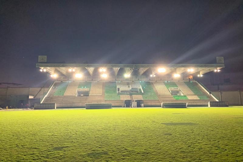 El Estadio Príncipe Felipe del CP Cacereño apuesta por la iluminación eficiente y la energía verde en su contrato de servicio energético con Axpo.