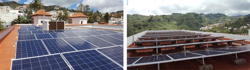 Las Oficinas Municipales ahorran un 40 % de electricidad gracias a la energía solar