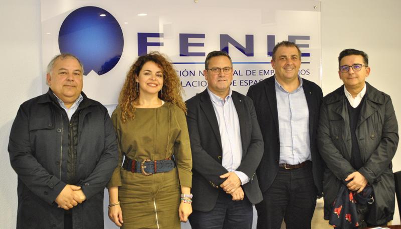 Miembros del nuevo Comité Ejecutivo de Fenie.