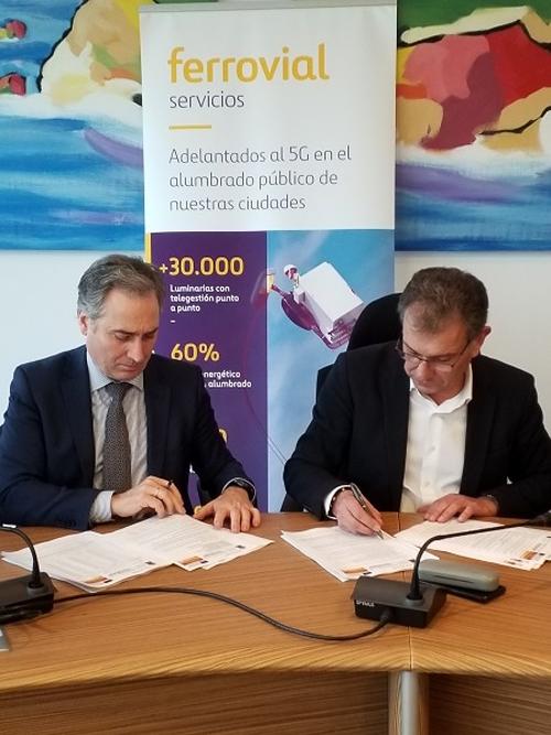 El Ayuntamiento de Gozón y Ferrovial Servicios firman el primer contrato ESE en Asturias para gestionar el alumbrado público