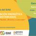 EI IDAE organiza una jornada que aborda el papel de los recursos distribuidos en la transición energética